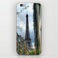 paris, je t'aime iPhone & iPod Skin