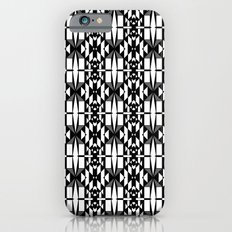 Black and White 2 iPhone 6 Slim Case