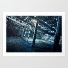 Cold Stretch Art Print