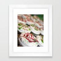 Christmas Sweets Framed Art Print