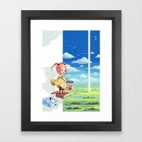 Tower of Wisdom Framed Art Print