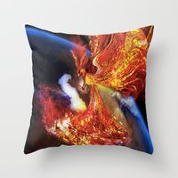 PHOENIX TEARS Throw Pillow