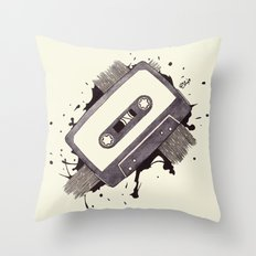 Cassette Throw Pillow