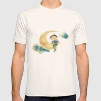 Dreamy Boy Mens Fitted Tee Natural SMALL