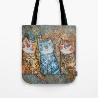 Cats Of Jerusalem Tote Bag