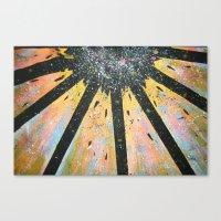 Explode! Canvas Print