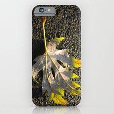 golden maple leaf iPhone 6 Slim Case