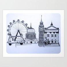 You sound like you're from London Art Print