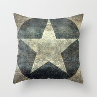 US Air Force Roundel Ins… Throw Pillow