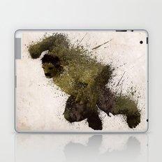 The Angry man Laptop & iPad Skin