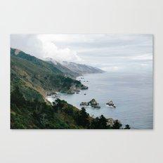 Big Sur Overlook Canvas Print