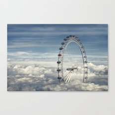 Ride Above the Clouds Canvas Print