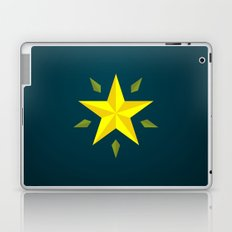 Gold Star/ Blue Laptop & iPad Skin
