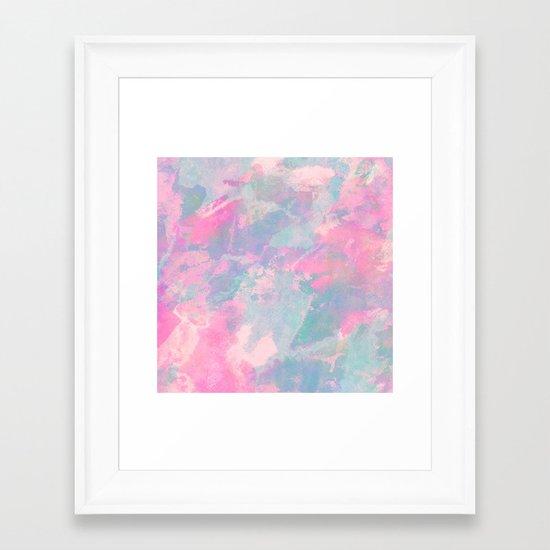 Pastel Sky Framed Art Print