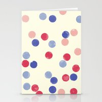 WATERCOLOR CONFETTI Stationery Cards
