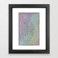Free Rainbow Border Framed Art Print