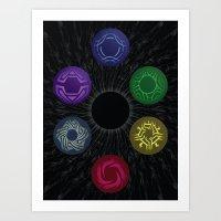 Skies Of Arcadia - Moons Art Print