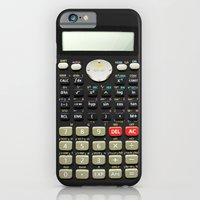 iPhone Cases featuring Camo Series - Scientific calculator by Budi Kwan