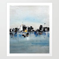 Another Town Art Print