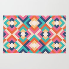 Colorful Geometric Rug
