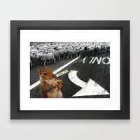 You Don't Have To Follow… Framed Art Print