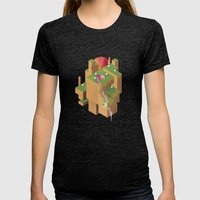 Normcore Ballad of the Seven Sheep Womens Fitted Tee Tri-Black SMALL