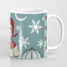 peaceful snow  Mug