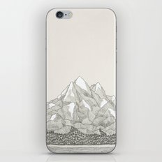 The Mountains and the Woods iPhone & iPod Skin