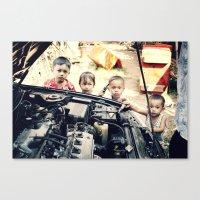 Our Gang n°2 Canvas Print