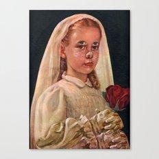 Silver Freckles Canvas Print