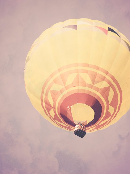 Beautiful Balloon from Below Art Print