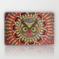 Vintage Owl Laptop & iPad Skin