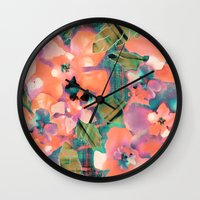 Tropicallista Peach Wall Clock