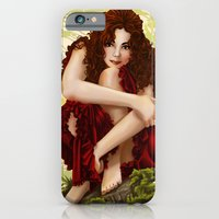 iPhone & iPod Case featuring Portrait by Angy'art