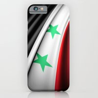 iPhone & iPod Case featuring Flag of Syria by Lulla