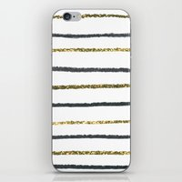 Golden Black iPhone & iPod Skin