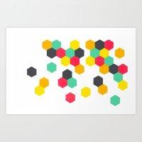 Crazy Clusters Art Print