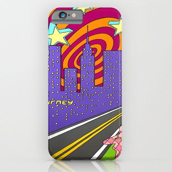 """Into the City"" iPhone & iPod Case"