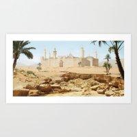 Art Print featuring Desert City by Viggart