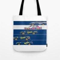 Colin McRae, The Subaru … Tote Bag
