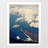 Lands End Art Print