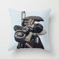Wrap Us In A Blanket Of … Throw Pillow