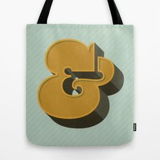 Heavy Ampersand Tote Bag