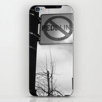 Sign Of the Times iPhone & iPod Skin
