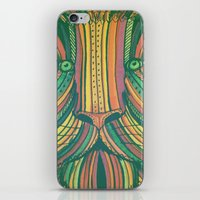 Panthera Leo iPhone & iPod Skin