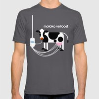 Moloko Vellocet Mens Fitted Tee Asphalt SMALL