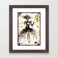 Ashfairy Framed Art Print