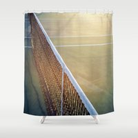 The Game #3 Shower Curtain