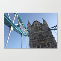 Tower Bridge, London (2012) Canvas Print