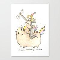 Merry xMas Master Magics! Canvas Print